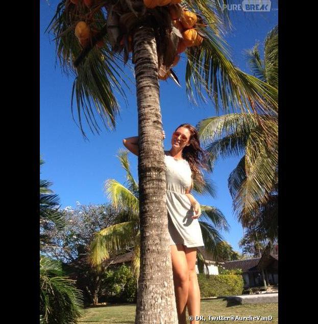 L'île des vérités 3 : Aurélie Van Daelen a retrouvé son ex à Tahiti.