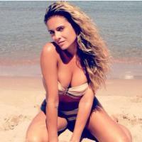 Clara Morgane en bikini : l'ex porn-star fait monter la température sur Twitter