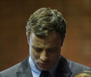 Oscar Pistorius : ému et grave, le 19 août 2013 au tribunal de Pretoria