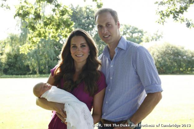 Kate Middleton et Prince William : premières photos officielles avec le Royal Baby