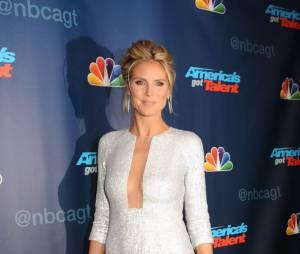 Heidi Klum à une soirée organisée pour America's Got Talent le 21 août 2013