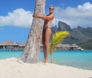 Heidi Klum : topless à Bora Bora