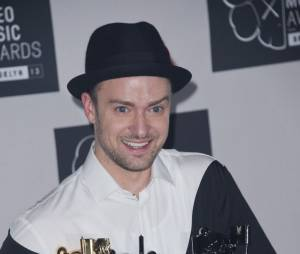 Justin Timberlake remporte 4 trophées aux MTV VMA 2013 le 25 août 2013