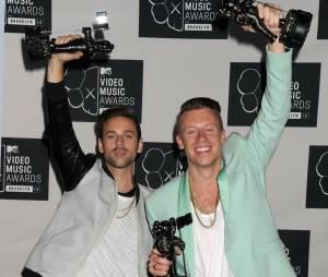 Macklemore & Ryan Lewis aux MTV VMA 2013 le 25 août 2013