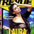 L'île des vérités 3 : Laura pose pour Entrevue