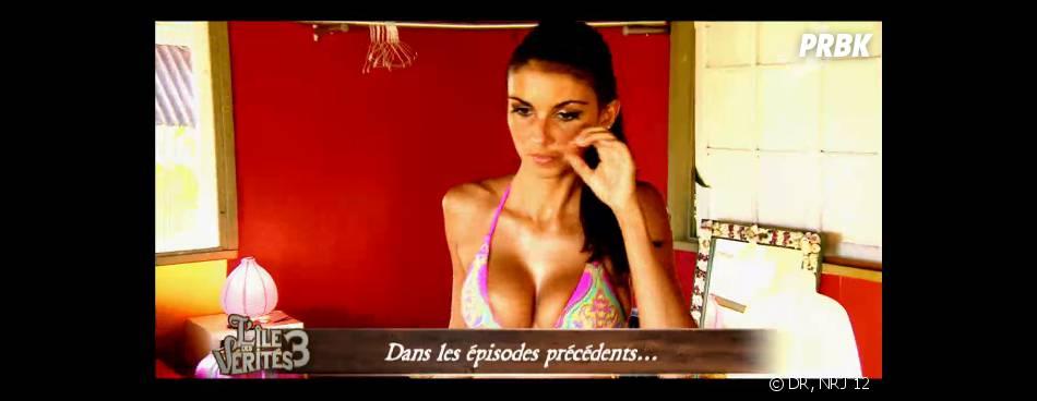 L'île des vérités 3 : Laura sexy en maillot de bain
