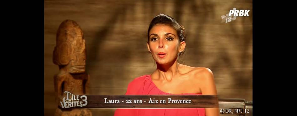 L'île des vérités 3 : Laura sexy en Une d'Entrevue