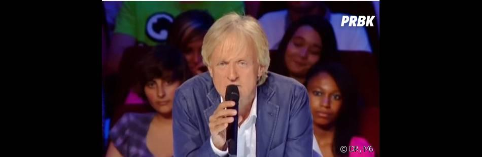 La France a un incroyable talent : Dave sur le fauteuil du jury.
