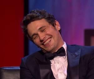 James Franco sur le plateau d'une émission de la chaîne Comedy Central diffusé le 2 septembre 2013