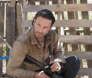 The Walking Dead : Andrew Lincoln ne kiffe pas les zombies