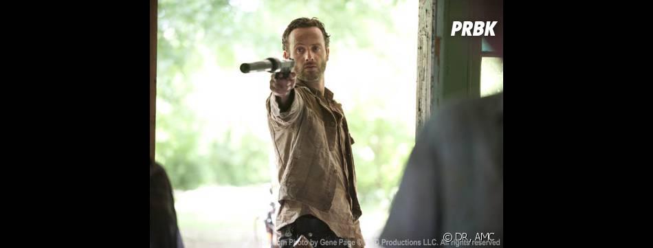 The Walking Dead : Andrew Lincoln dans la saison 3