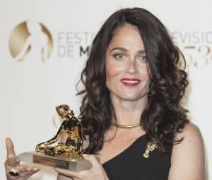 Mentalist saison 5 : Robin Tunney reçoit un prixau Festival de télévision de Monte Carlo 2013