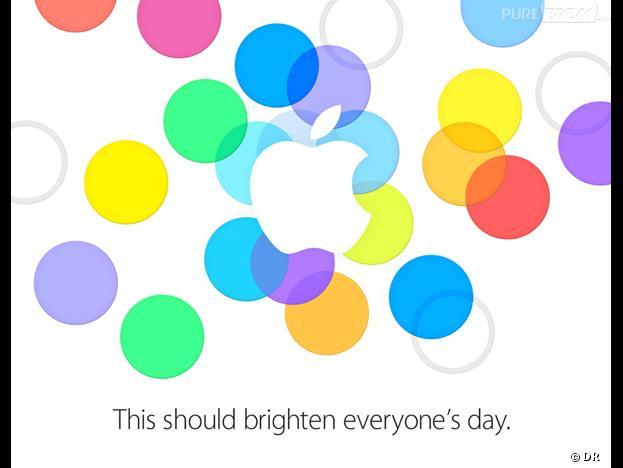 Apple : l'invitation pour la Keynote du 10 septembre 2013