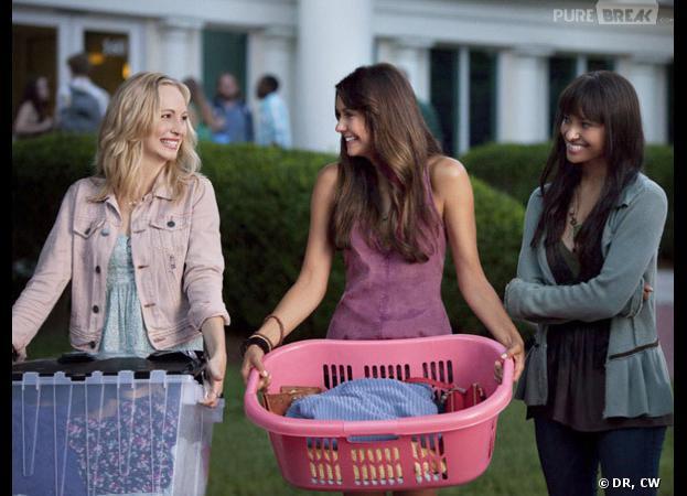 Vampire Diaries saison 5, épisode 1 : direction la fac pour Candice Accola et Nina Dobrev