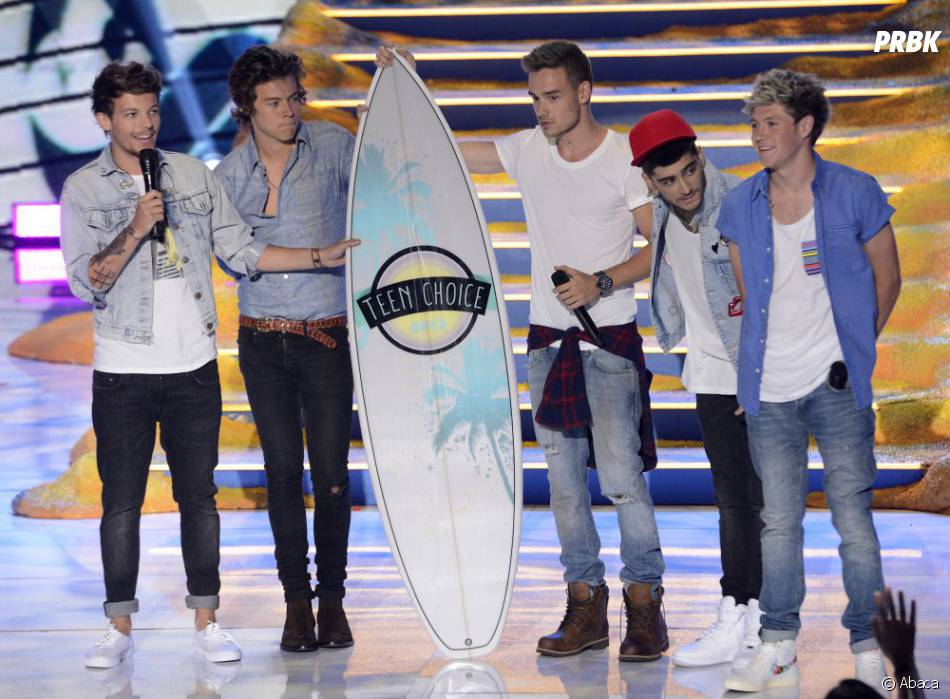 Harry Styles et One Direction aux Teen Choice Awards 2013