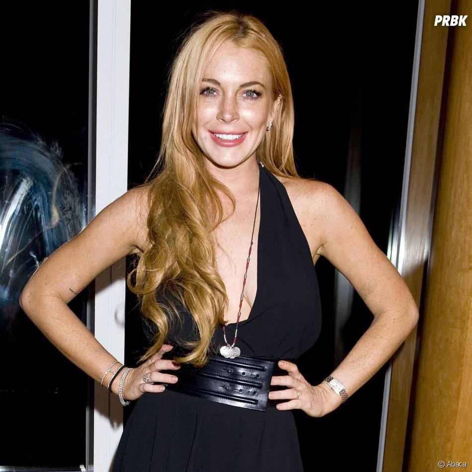 Lindsay Lohan en tenue sexy, le 11 septembre 2013 à New York