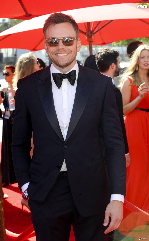 Joel McHale aux Creative Arts Emmy Awards 2013 le 15 septembre 2013