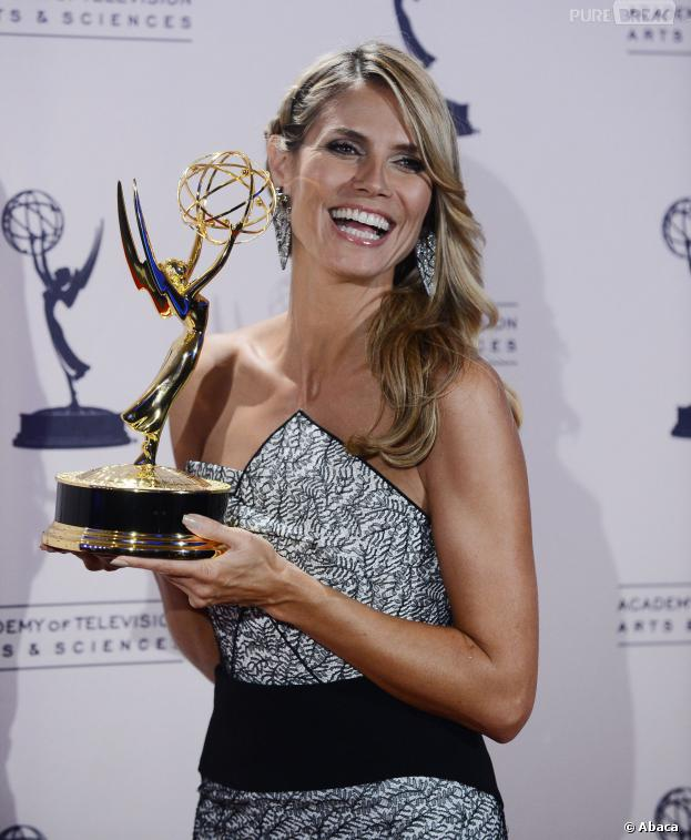 Heidi Klum remporte un prix aux Creative Arts Emmy Awards 2013 le 15 septembre 2013