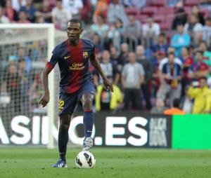 Eric Abidal a passé six saisons au FC Barcelone