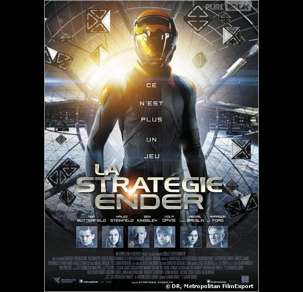 """""""La stratégie Ender"""", l'affiche"""