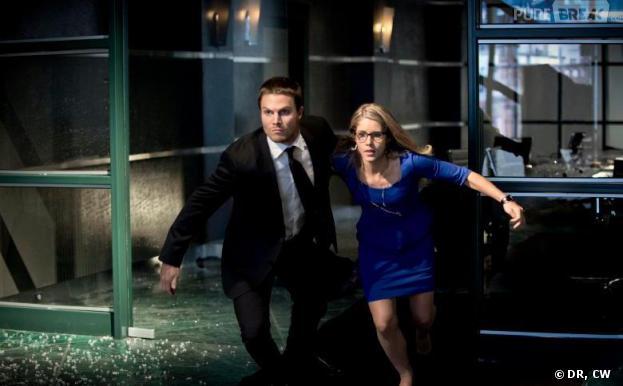 Arrow saison 2 : Oliver et Felicity en danger