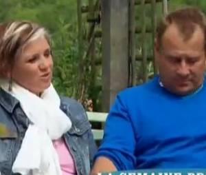 L'amour est dans le pré 2013 : Gilles et Katia lors du bilan de l'émission.