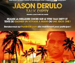 """Jason Derulo : danse sur 'Talk Dirty' et part à Miami rencontrer le chanteur de """"Tattoos"""""""