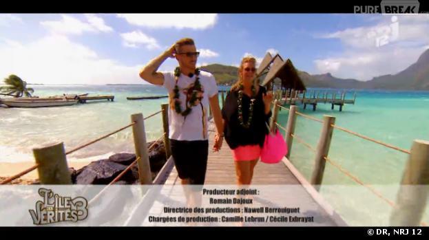 L'île des vérités 3 : Aurélie et Raphael en tête-à-tête