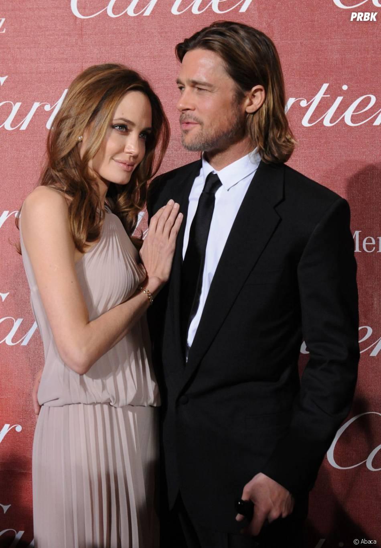 Brad Pitt était là pour soutenir Angelina Jolie