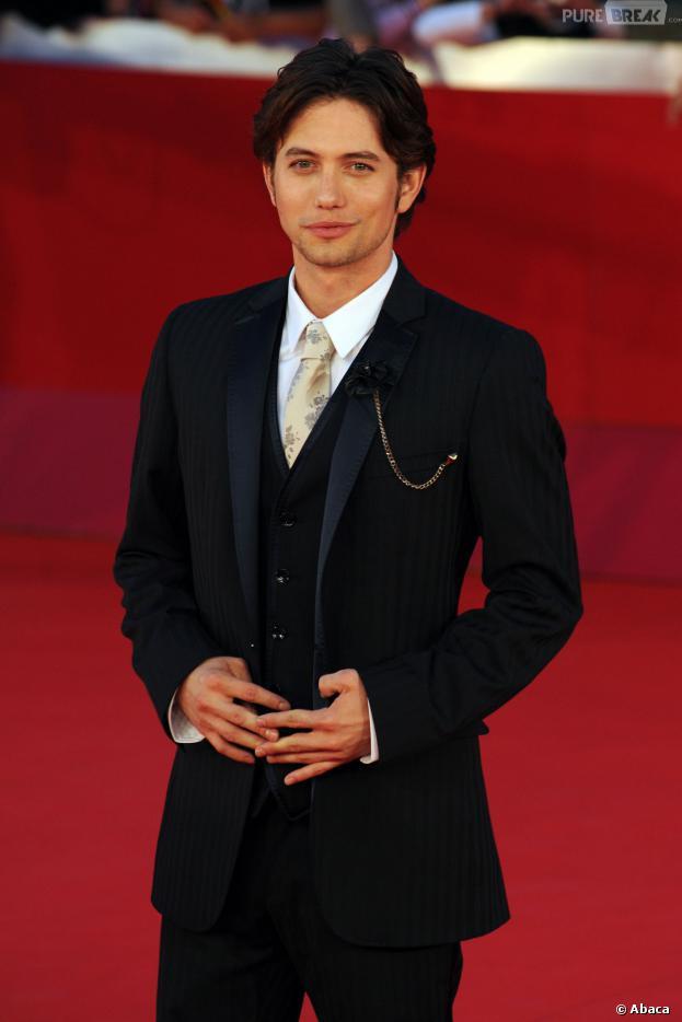 Jackson Rathbone à Rome pour la promo de Twilight 4, le 30 octobre 2011