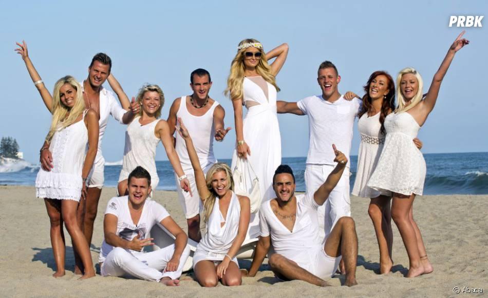 Les Ch'tis à Hollywood en compagnie de Paris Hilton.