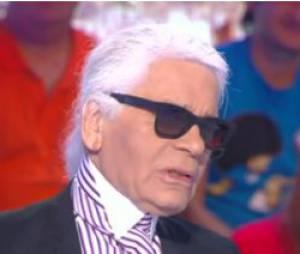 Karl Lagerfeld : déclaration polémique sur D8, le 2 octobre 2013
