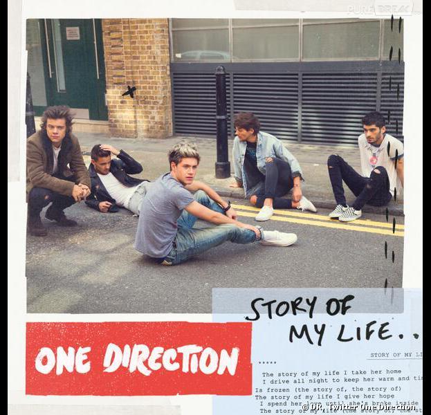 One Direction : la pochette du single Story of My Life