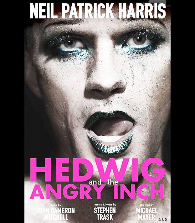 """Neil Patrick Harris drag queen sur l'affiche de """"Hedwig and the Angry Inch"""""""