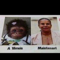Christiane Taubira comparée à un singe par une candidate du FN