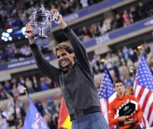Rafael Nadal a remporté lundi 9 septembre l'US Open 2013