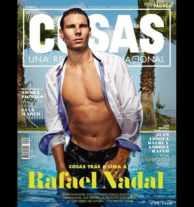 """Rafael Nadal en couverture du magazine péruvien """"Cosas"""""""