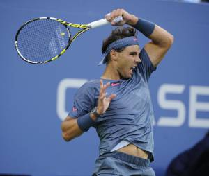 Rafael Nadal en finale de l'US Open le 9 septembre 2013