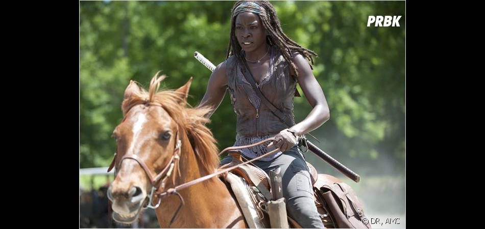 The Walking Dead saison 4 : Michonne toujours aussi badass