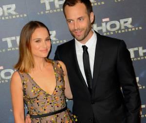 Natalie Portman et son mari Benjamin Millepied à Paris pour l'avant-première de Thor 2