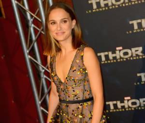 Natalie Portman à Paris pour l'avant-première de Thor 2