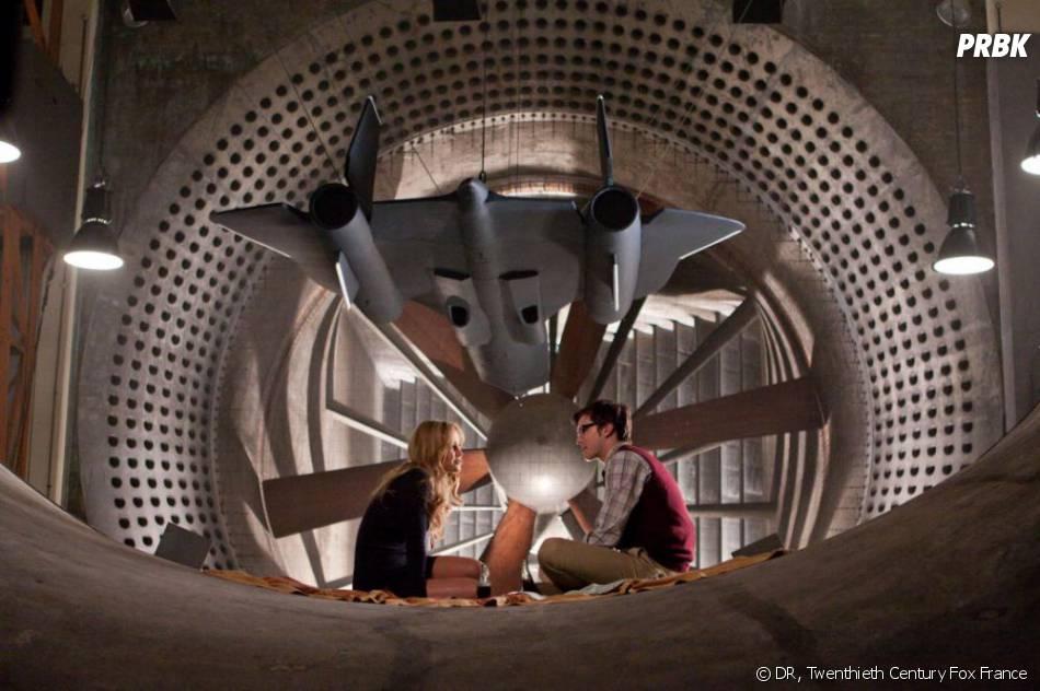 Jennifer Lawrence et Nicholas Hoult dans X-Men le Commencement