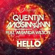 Quentin Mosimann - Hello, la lyrics video du single avec Amanda Wilson