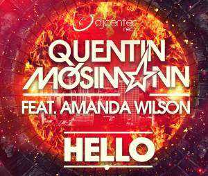 Quentin Mosimann - Hello, la lyrics video du single avec Amanda Wilson