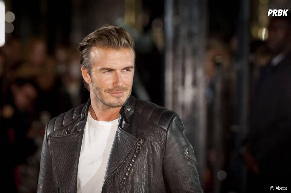 David Beckham à Londres pour Belstaff, le 15 septembre 2013