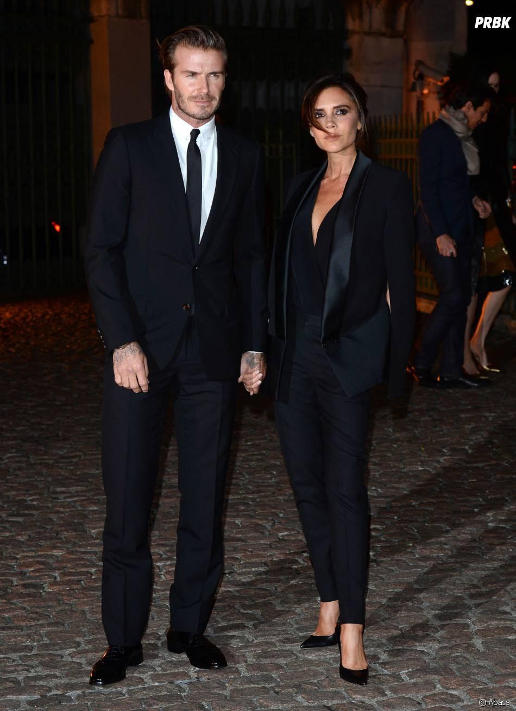 David et Victoria Beckham : so chic pour la Fashion Week de Londres 2013