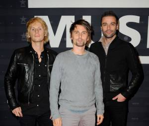 Muse à Paris à l'avant-première parisienne de leur film-concert le 5 novembre 2013