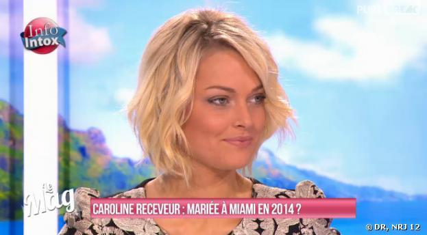 Caroline Receveur, une femme bientôt mariée
