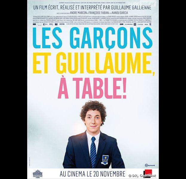 Les gar ons et guillaume table sortira le 20 novembre - Guillaume et les garcons a table film complet ...