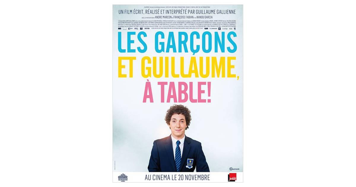 Les gar ons et guillaume table un film dr le - Les garcon et guillaume a table ...